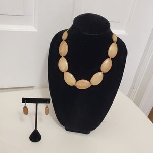 Charming Charlie Jewelry Necklace & Earrings Set